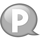 speech-balloon-white-p-icon