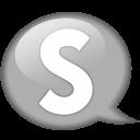 speech-balloon-white-s-icon