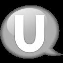 speech-balloon-white-u-icon