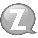 speech-balloon-white-z-icon