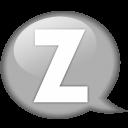 speech-balloon-white-z-icon