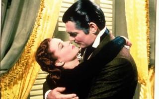 Baciare - Una scena di bacio da Via col vento