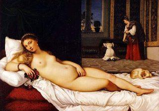 Essere nudi - La Venere di Urbino - Tiziano