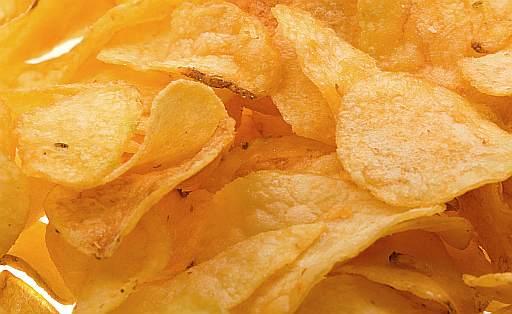 Patatine fritte in sacchetto