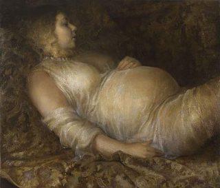 Donna incinta - Helene Knoop