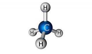 Gas metano - struttura chimica