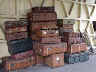 Valigia - vecchie valigie