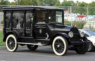 Carro funebre anni '20