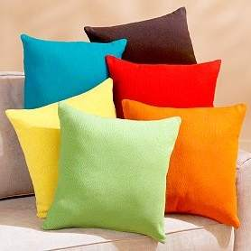 Cuscini colorati