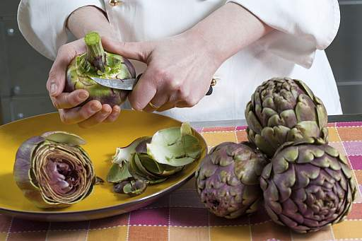 Cucinare carciofi romoletto blog for Cucinare carciofi