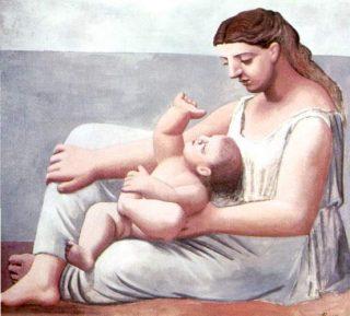 Mamma e figlio - Pablo Picasso