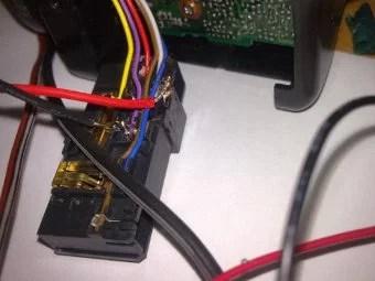 Sony CCD tr640E - Collegamenti