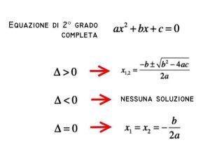 Calcolo Radici Equazioni di Secondo Grado - Simple Apps