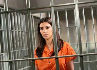 Kim Kardashian in carcere