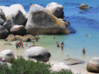 Spiaggia dei Boulders a Cape Town - Sfondo desktop