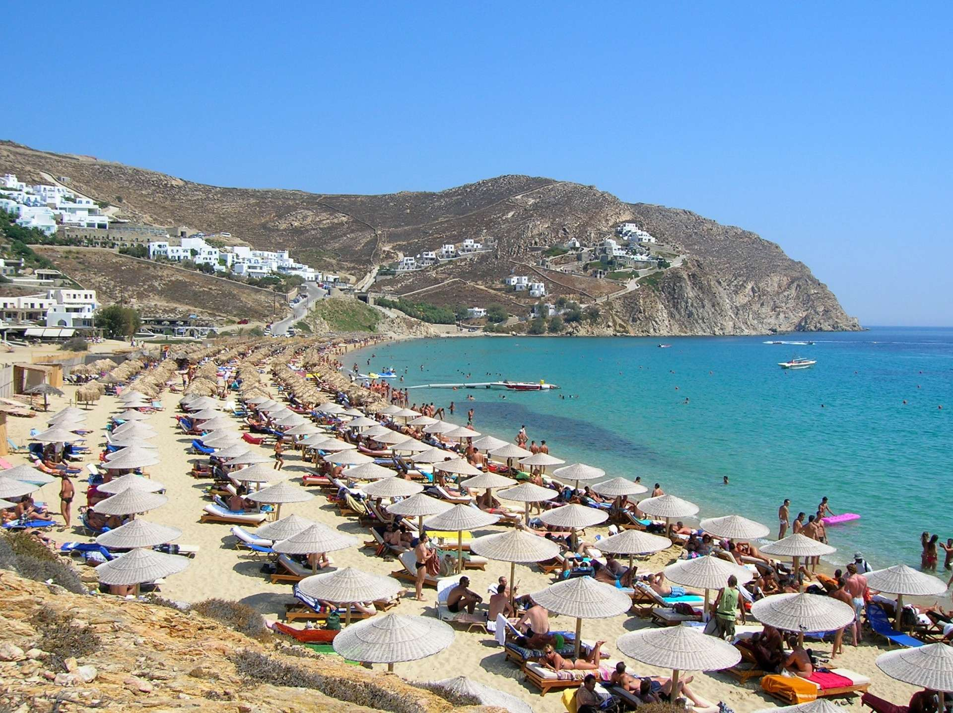 Spiaggia di Mykonos - Sfondo desktop