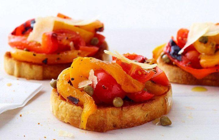 Bruschette al peperone - Ricette semplici