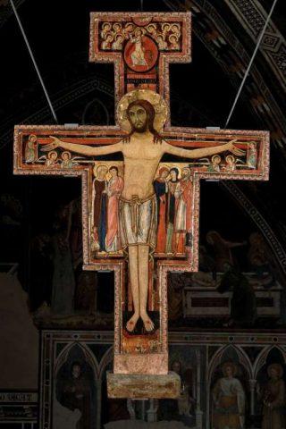Il Crocifisso – Basilica di santa Chiara – Assisi