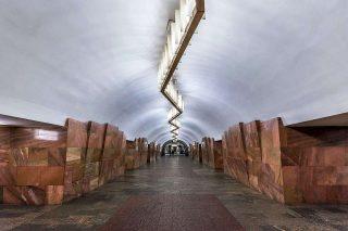 Stazione Barrikadnaya «© Alex Florstein Fedorov, Wikimedia Commons»