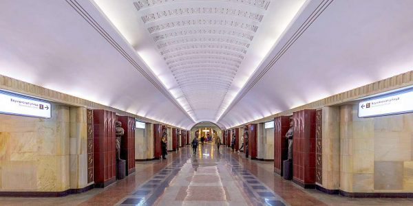 Stazione Baumanskaya «© Alex Florstein Fedorov, Wikimedia Commons»
