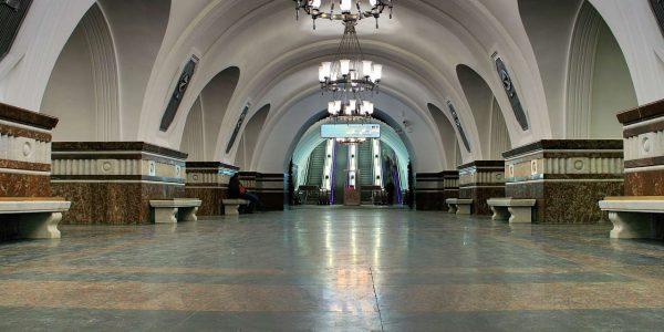 Stazione Frunzenskaya Metropolitana di Mosca