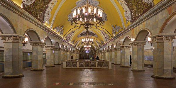 Stazione Komsomolskaya «© A.Savin, Wikimedia Commons»