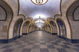 Stazione Novoslobodskaya «© Alex Florstein Fedorov, Wikimedia Commons»