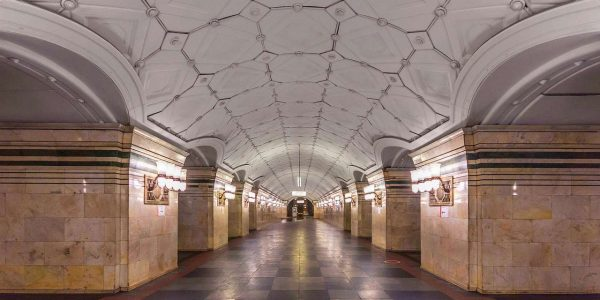 Stazione Sportivnaya «© Alex Florstein Fedorov, Wikimedia Commons»