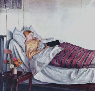 The Sick Girl - 1882 -Michael Ancher