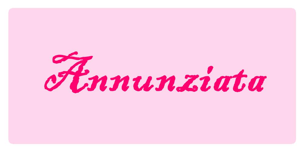 Annunziata Significato Dei Nomi 25 Marzo Romoletto Blog