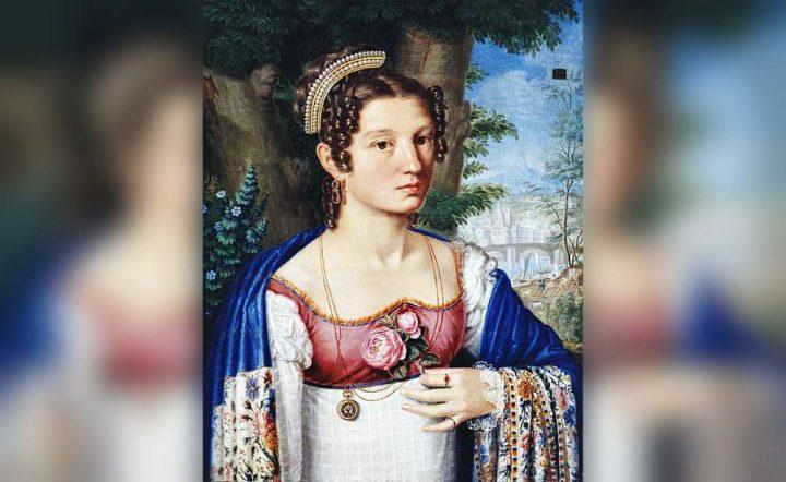 Cognata - Interpretazione dei sogni (Giuseppe Gandolfo - Ritratto della cognata Anna Brancaleone)