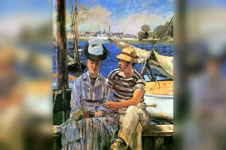 Cognato - Interpretazione dei sogni (Rudolph Leenhoff - Cognato di Edouard Manet - Argenteuil)