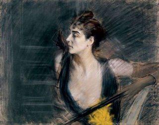 Giovanni Boldini - Madame X - La cognata di Helleu