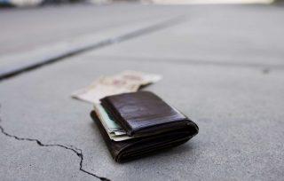 Perdere il portafoglio