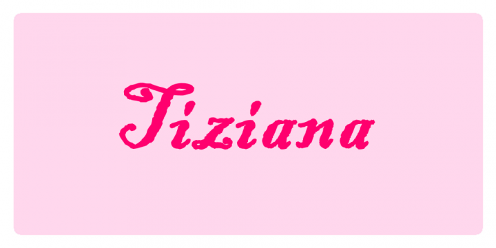 Tiziana - Significato dei nomi