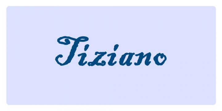 Tiziano - Significato dei nomi
