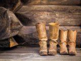 Stivali di pelle