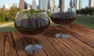 Vino nei bicchieri