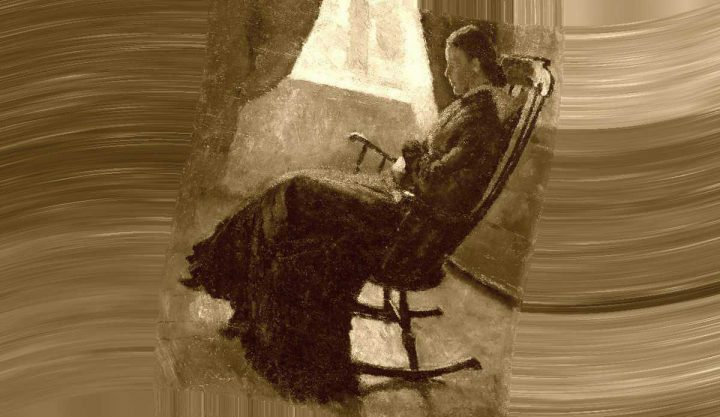 Zia, zie - Interpretazione dei sogni - (Aunt Karen in the Rocking Chair, 1883 - Edvard Munch)