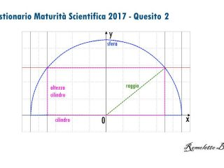 Maturità Scientifica 2017 - Questionario - Quesito 2