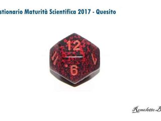 Maturità Scientifica 2017 - Questionario - Quesito 8