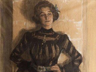 Moglie - Interpretazione dei sogni (Ritratto di Marie, moglie dell'artista Peder Severin Kröyer)