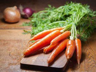 carote in cucina