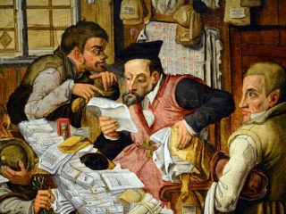 Avvocato - Interpretazione dei sogni (Pieter Brueghel il giovane - L'avvocato del villaggio)