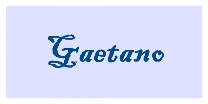 Gaetano - Significato dei nomi
