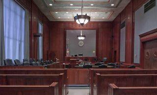 Tribunale - sala della corte