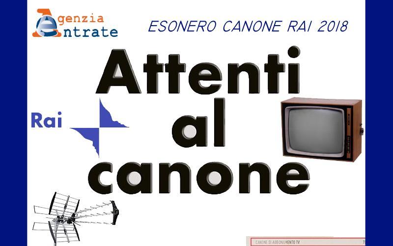 canone rai 2018 esenzione romoletto blog