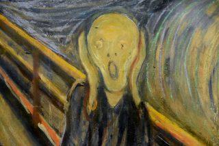 L'urlo di Munch - Particolare