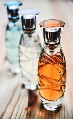 Bottigliette di profumo
