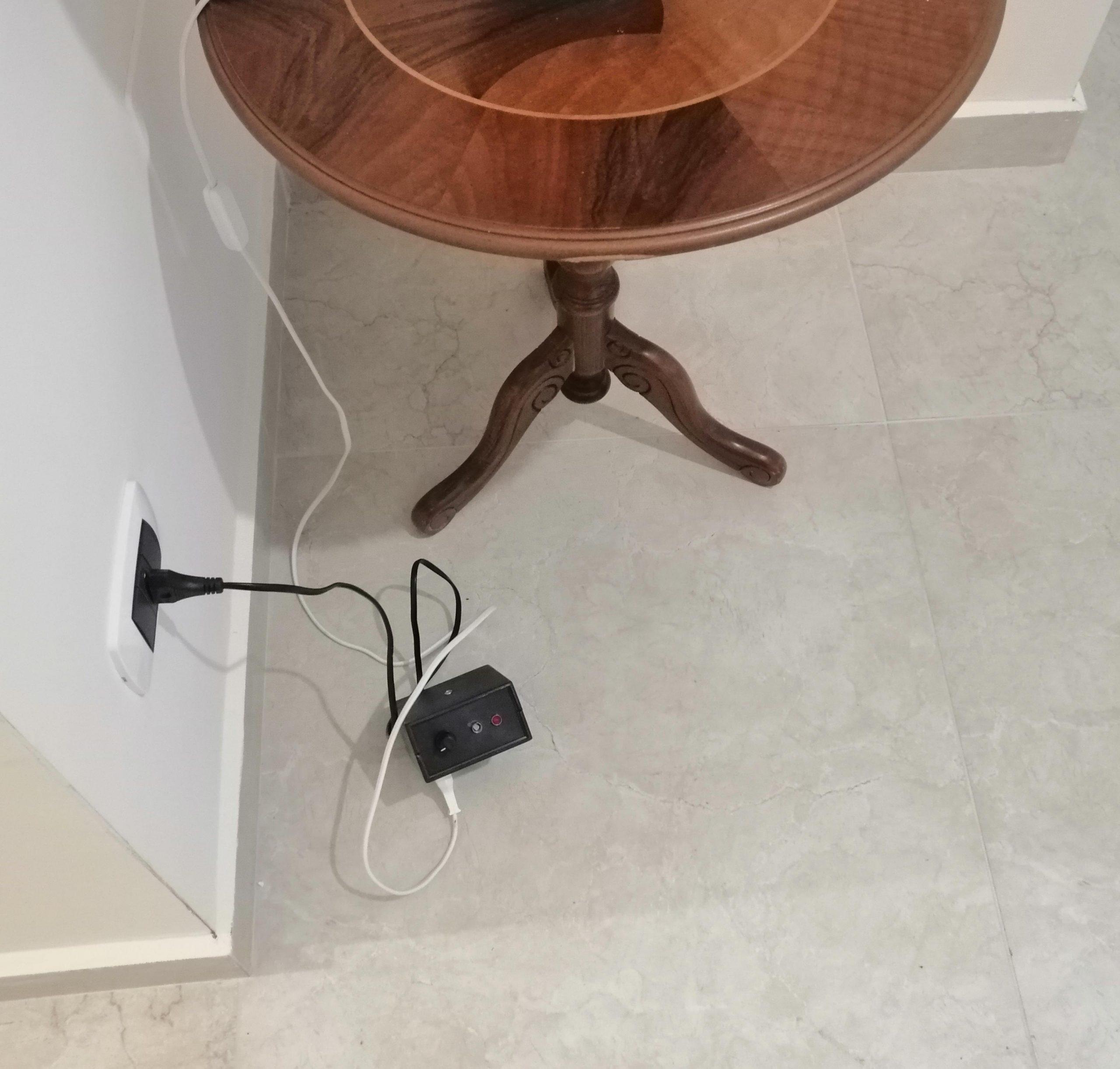 Lampada Spenta - Luce ambientale sufficiente - Interruttore crepuscolare OFF